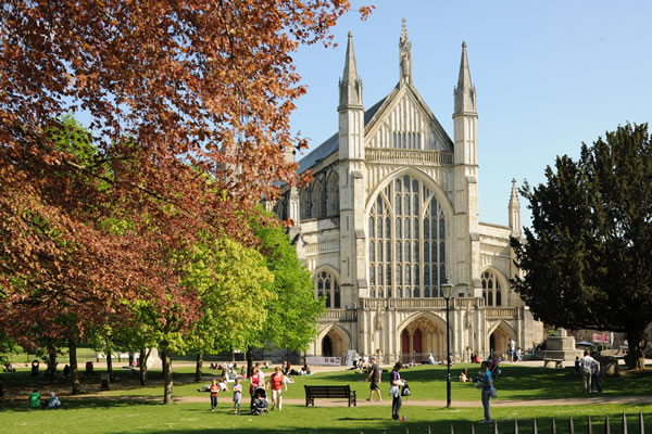 Great days out in Hampshire at Winchester Cathedral