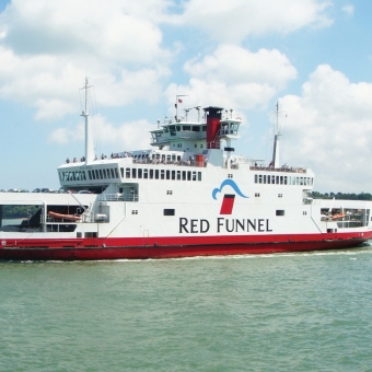Use the Red Funnel for trips to the Isle of Wight and days out in Hampshire