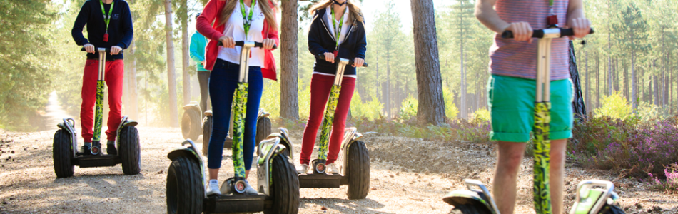 Different things to do in Hampshire with segways