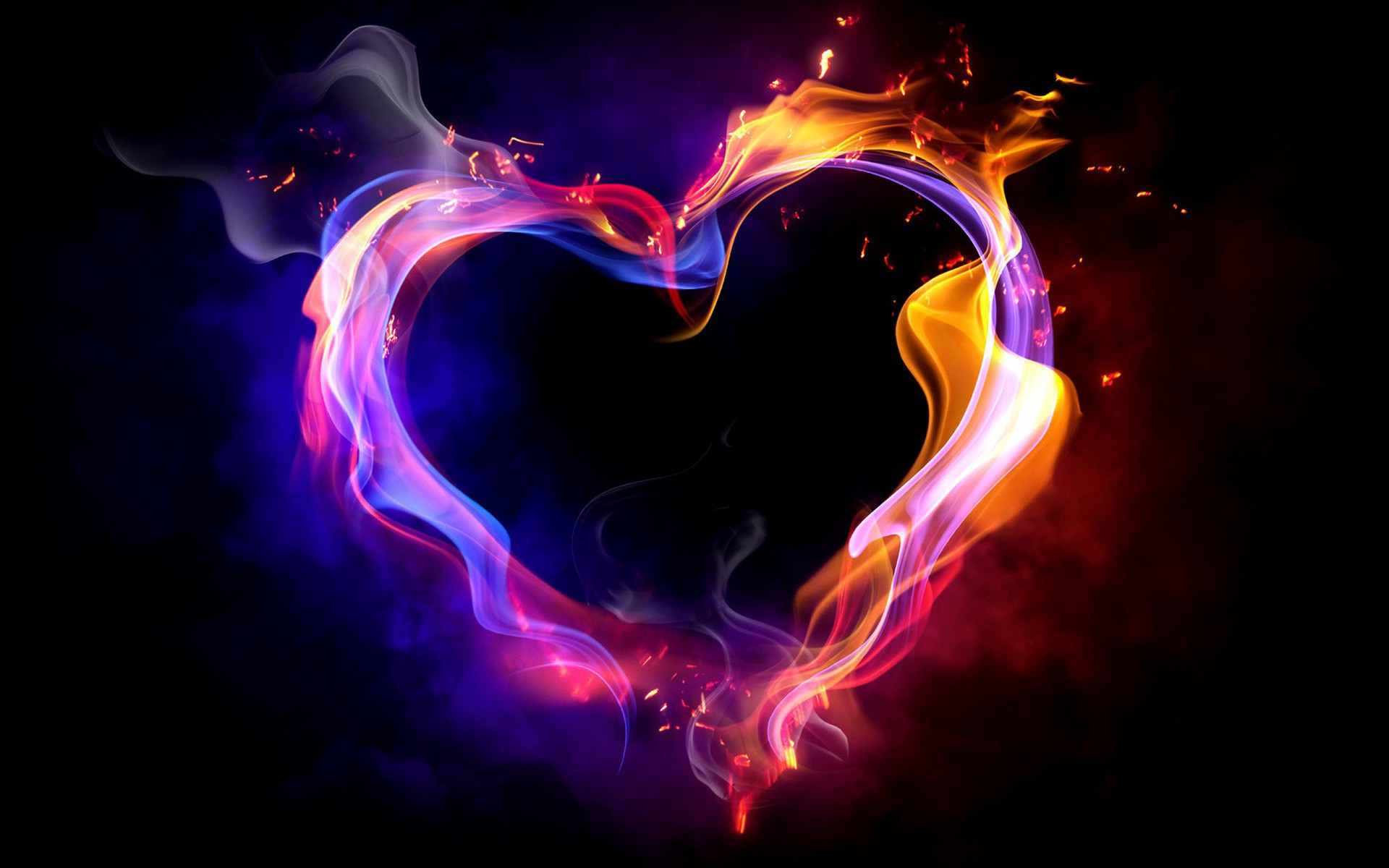 Fire heart high